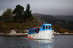 The Harbour Queen II ferry to to the tropical gardens of Garinish Island, Glengarriff, West Cork, Ireland