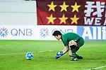 Kawasaki Goalkeeper Jung Sungryong in action during the AFC Champions League 2017 Group G match between Guangzhou Evergrande FC (CHN) vs Kawasaki Frontale (JPN) at the Tianhe Stadium on 14 March 2017 in Guangzhou, China. Photo by Marcio Rodrigo Machado / Power Sport Images