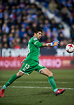 Goalkeeper Nereo Champagne of CD Leganes in action during the Copa del Rey 2017-18 match between CD Leganes and Real Madrid at Estadio Municipal Butarque on 18 January 2018 in Leganes, Spain. Photo by Diego Gonzalez / Power Sport Images