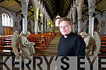 34-year old, Bernard Lynch, who is the youngest priest in the Kerry Diocese.