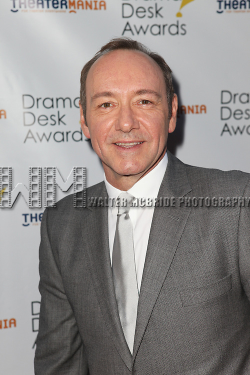 Kevin Spacey pictured at the 57th Annual Drama Desk Awards held at the The Town Hall in New York City, NY on June 3, 2012. © Walter McBride
