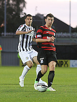 Darren Brownlie in the St Mirren v Ayr United Scottish Communities League Cup match played at St Mirren Park, Paisley on 29.8.12.