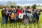 Killarney Mayor Niall Kelliher launches the Killarney Ploughing Association with l-r: Thomas Wharton, Niall Kelliher, Tony Wharton, Tom Leslie with James Ryan and Robbie Paul O'Sullivan