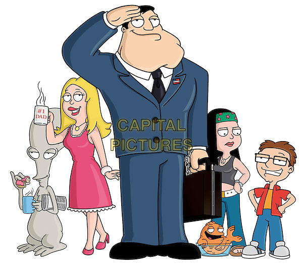 RODGER, FRANCINE, STAN, KLAUS, HAYLEY & STEVE.in American Dad.*Editorial Use Only*.www.capitalpictures.com.sales@capitalpictures.com.Supplied by Capital Pictures.