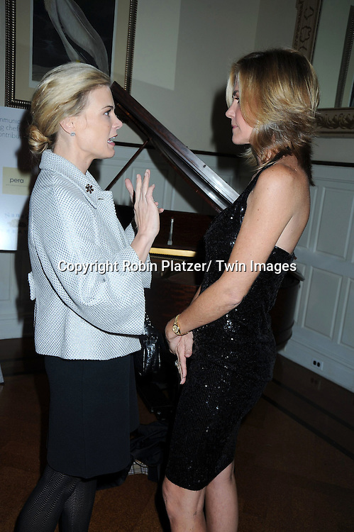 "Gina Tognoni and Kassie DePaiva attending The The Center for Hearing and Communication Centennial  ""Hear for the Future"" Gala on October 18, 2010 at 583 Park Avenue in New York City."