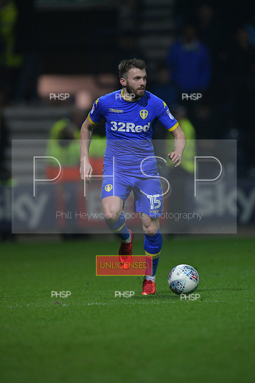 10/04/2018 Sky Bet League Championship Preston North End v Leeds United<br /> <br /> Stuart Dallas, Leeds United FC