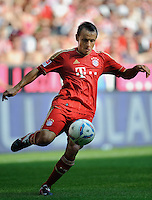 Fussball Bundesliga Saison 2011/2012 3. Spieltag FC Bayern Muenchen - Hamburger SV RAFINHA (FCB).