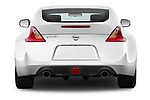 Straight rear view of 2019 Nissan 370Z-Coupe 7A/T 0 Door Coupe Rear View  stock images