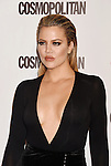 WEST HOLLYWOOD, CA - OCTOBER 12: TV personality Khloe Kardashian arrives at Cosmopolitan Magazine's 50th Birthday Celebration at Ysabel on October 12, 2015 in West Hollywood, California.