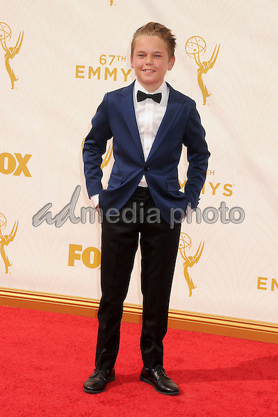 20 September 2015 - Los Angeles, California - Mason Vale Cotton. 67th Annual Primetime Emmy Awards - Arrivals held at Microsoft Theater. Photo Credit: Byron Purvis/AdMedia