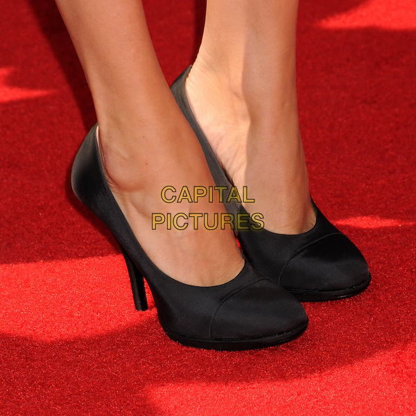 CHLOE SEVIGNY .60th Annual Primetime Creative Arts Emmy Awards - Arrivals at the Nokia Theatre, Los Angeles, California, USA, 13 September 2008..detail feet pumps heels black shoes .CAP/ADM/BP.©Byron Purvis/Admedia/Capital PIctures