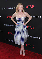 "30 March 2017 - Los Angeles, California - Amy Hargreaves.  Premiere Of Netflix's ""13 Reasons Why"" held at Paramount Studios in Los Angeles. Photo Credit: Birdie Thompson/AdMedia"