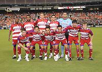 FC. Dallas Team Photo, DC United tie with FC. Dallas 2-2, Saturday September 13, 2008 at RFK Stadium.