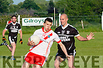 An Ghaeltacht Sean M. Û'Conch˙ir meets a solid defense Ardfert from Michael Maloney.