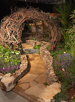"""Vintage California"" exhibit by Terra Ferma Landscapes at San Francisco Flower & Garden Show 2014"