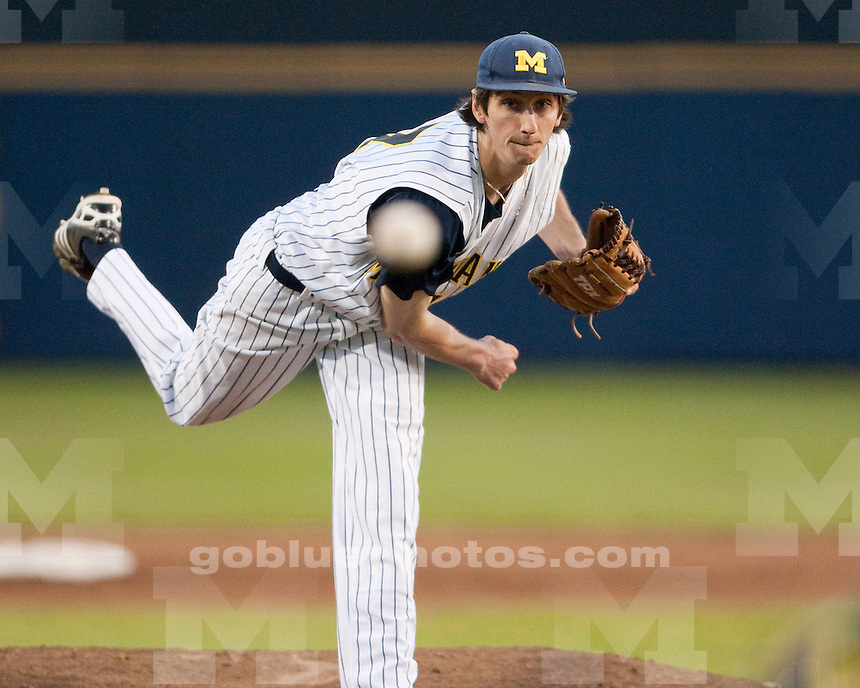 University of Michigan baseball 4-1 loss to Minnesota at Ray Fisher Stadium in Ann Arbor, MI, on May 6, 2011.