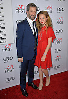 LOS ANGELES, CA. November 11, 2016: Director Judd Apatow &amp; daughter Iris Apatow at premiere of &quot;The Comedian&quot;, part of the AFI Fest 2016, at the Egyptian Theatre, Hollywood.<br /> Picture: Paul Smith/Featureflash/SilverHub 0208 004 5359/ 07711 972644 Editors@silverhubmedia.com