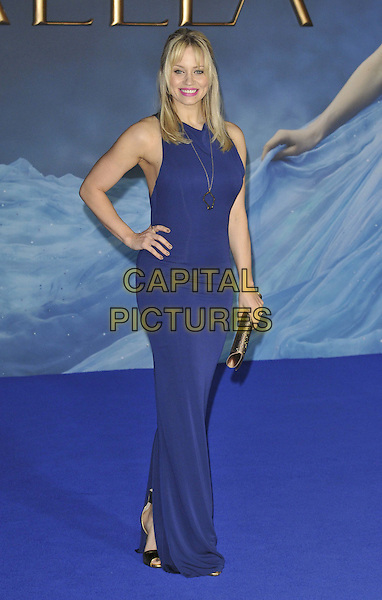LONDON, ENGLAND - MARCH 19: Kimberly Wyatt attends the &quot;Cinderella&quot; UK film premiere, Odeon Leicester Square cinema, Leicester Square, on Thursday March 19, 2015 in London, England, UK. <br /> CAP/CAN<br /> &copy;Can Nguyen/Capital Pictures