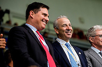 Swansea City's Owners Steve Kaplan and Jason Levien during the Premier League match between Swansea City and Hull City at the Liberty Stadium, Swansea on Saturday August 20th 2016