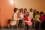 Education Elementary Grade 3 rehearsing musical play