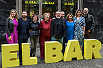 "20170322.  Junket of the film ""El bar"" at bar Palentino."