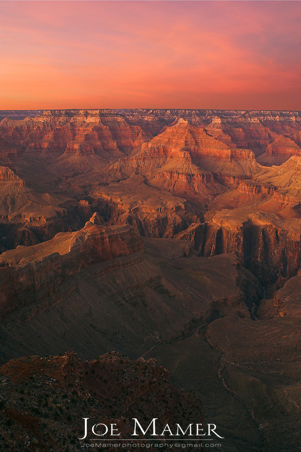 Powell Point Sunset, Grand Canyon NP, Arizona