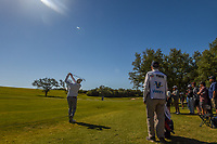 Jim Furyk (USA) hits his approach shot on 10 during Round 4 of the Valero Texas Open, AT&amp;T Oaks Course, TPC San Antonio, San Antonio, Texas, USA. 4/22/2018.<br /> Picture: Golffile | Ken Murray<br /> <br /> <br /> All photo usage must carry mandatory copyright credit (&copy; Golffile | Ken Murray)