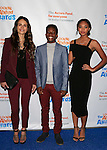 LOS ANGELES - DEC 6: Jordana Brewster, Dante Brown, Chandler Kinney at The Actors Fund's Looking Ahead Awards at the Taglyan Complex on December 6, 2015 in Los Angeles, California