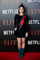 Nerea Camacho attends to 'Elite' premiere at Museo Reina Sofia in Madrid, Spain. October 02, 2018. (ALTERPHOTOS/A. Perez Meca) /NortePhoto.com NORTEPHOTOMEXICO