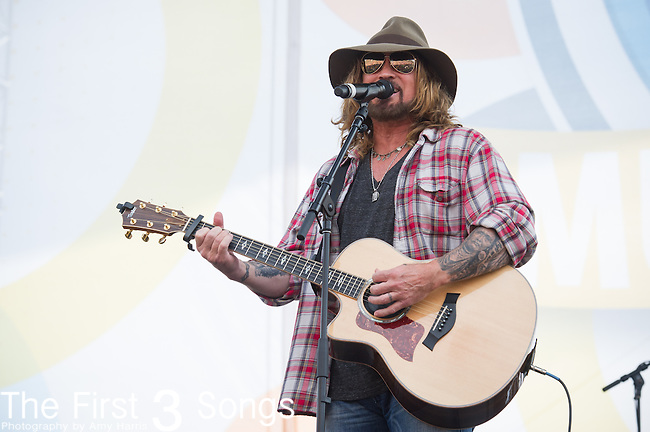 Billy Ray Cyrus performs on Day Three of the 2014 CMA Music Festival in Nashville, Tennessee.