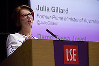 23.06.2015 - LSE Presents: Julia Gillard - Above the Parapet: Women in Public Life