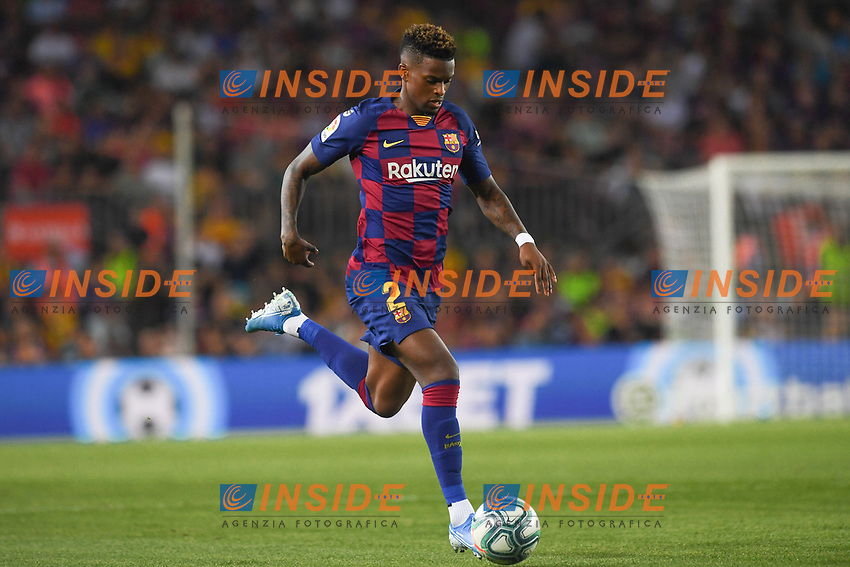 FOOTBALL: FC Barcelone vs Real Betis - La Liga-25/08/2019<br /> Nelson Semado (FCB) <br /> 25/08/2019 <br /> Barcelona - Real Betis  <br /> Calcio La Liga 2019/2020  <br /> Photo Paco Largo/Panoramic/insidefoto