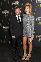 LAS VEGAS, NV - NOVEMBER 30: Austin Dillon and Whitney Ward arriving to the 2017 NASCAR Sprint Cup Awards at The Wynn Hotel & Casino in Las Vegas, Nevada on November 30, 2017. Credit: Damairs Carter/MediaPunch /NortePhoto NORTEPHOTOMEXICO
