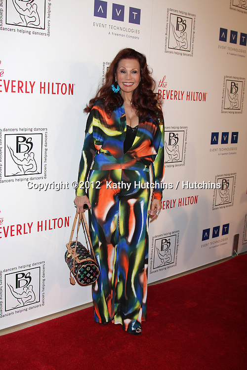 LOS ANGELES - MAR 18:  Barbara Luna arrives at the Professional Dancer's Society Gypsy Awards at the Beverly Hilton Hotel on March 18, 2012 in Los Angeles, CA