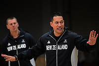 Coach Kennedy Kereama. Tall Ferns women's basketball training at Bill Pulman Arena in Papakura, Auckland, New Zealand on Wednesday, 7 June 2017. Photo: Dave Lintott / lintottphoto.co.nz