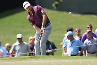 Graeme McDowell (NIR) chips onto the 13th green during Thursday's Round 1 of the 2017 PGA Championship held at Quail Hollow Golf Club, Charlotte, North Carolina, USA. 10th August 2017.<br /> Picture: Eoin Clarke | Golffile<br /> <br /> <br /> All photos usage must carry mandatory copyright credit (&copy; Golffile | Eoin Clarke)