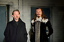 55 Days by Howard Brenton directed by Howard Davies. With Douglas Henshall as Oliver Cromwell, Mark Gatiss as King Charles I. Opens at  The Hampstead Theatre on 24/10/12.  CREDIT Geraint Lewis