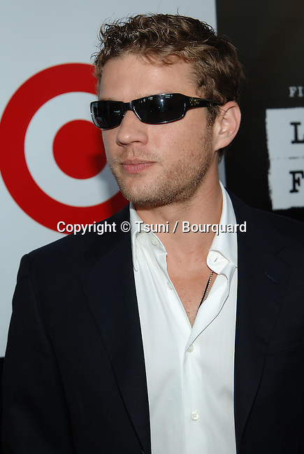 Ryan Phillipe arriving at the SPIRIT if Independence Awards at the Hammer Museum in Los Angeles.<br /> <br /> 3/4 to the waist<br /> sun glass