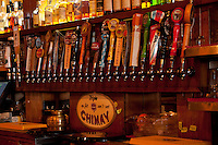 Beer Taps and Single Malts, Fred's Rivertown Alehouse, Snohomish, Washington, US
