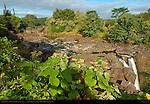 Wailuku River, Waianuenue Falls, Rainbow Falls, Wailuku River State Park, Hilo, Big Island of Hawaii