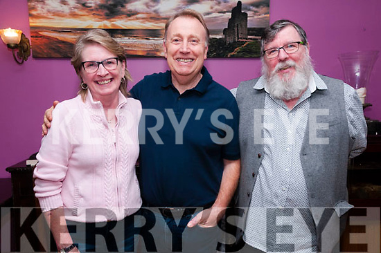 Pictured at the Jack Lyons & Jimmy Fitzgerald Commerative Weekend at Kilcooly's Country House, Ballybunion on Saturday night last were Angela , William & James Diggin.