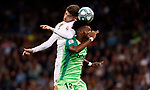 Real Madrid CF's Fede Valverde and CD Leganes's Chidozie Awaziem during La Liga match. Oct 30, 2019. (ALTERPHOTOS/Manu R.B.)