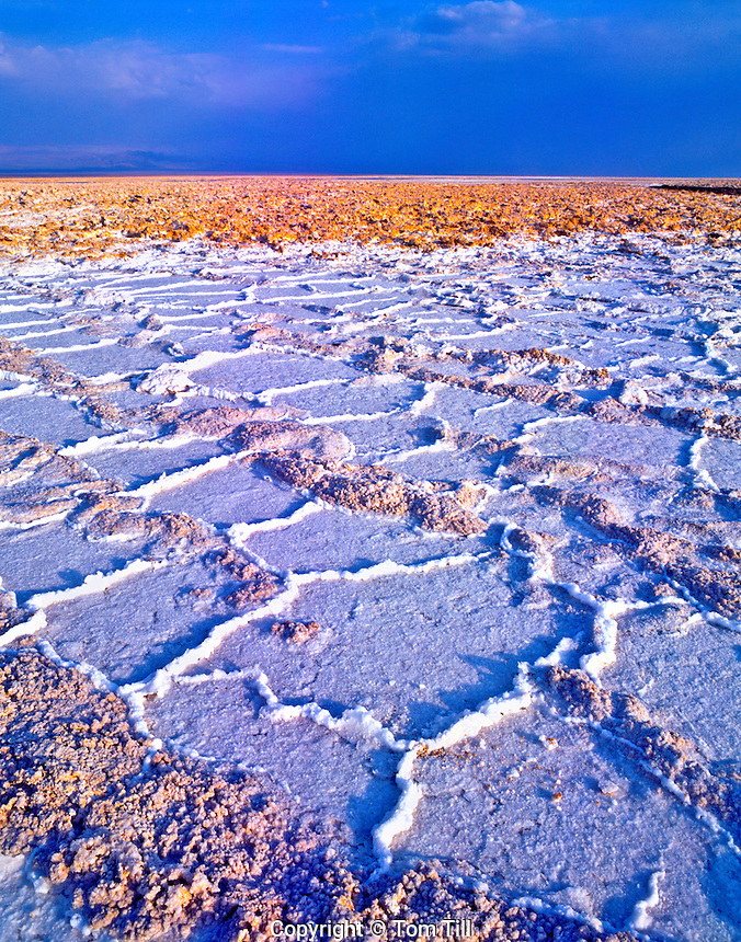 Salt Pan, Salar De Atacama Flamingo Reserve, Atacama Desert, Chile, South America