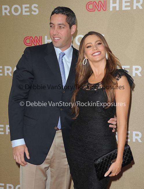 Sofia Vergara and Nick Loeb attends CNN Heroes - An Allstar Tribute held at The Shrine Auditorium in Los Angeles, California on December 11,2011                                                                               © 2011 DVS / Hollywood Press Agency