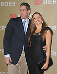 Sofia Vergara and Nick Loeb attends CNN Heroes - An Allstar Tribute held at The Shrine Auditorium in Los Angeles, California on December 11,2011                                                                               © 2011 DVS / Hollywood Press Agency