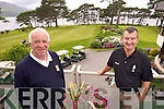 Chief Marshall of the Irish Open in Killarney is Paul Downey pictured on left on right is his assistant Dermot Walsh.