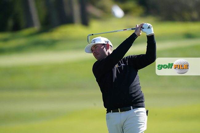 Chez Reavie (USA) in action during the final round of the AT&T Pro-Am, Pebble Beach, Monterey, California, USA. 08/02/2020<br /> Picture: Golffile | Phil Inglis<br /> <br /> <br /> All photo usage must carry mandatory copyright credit (© Golffile | Phil Inglis)