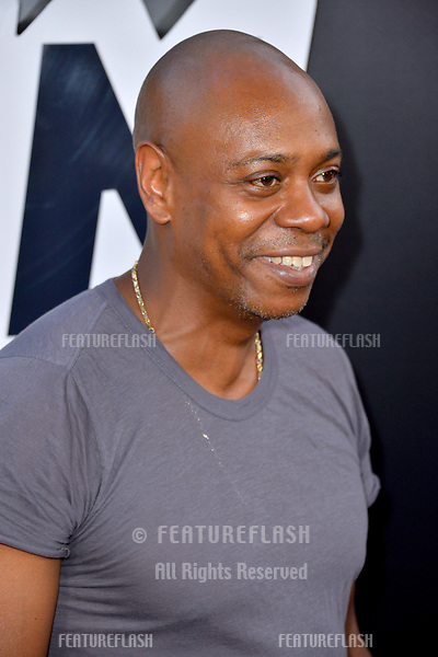 """Dave Chappelle at the Los Angeles premiere of """"BlacKkKlansman"""" at the Academy's Samuel Goldwyn Theatre, Beverly Hills, USA 08 Aug. 2018<br /> Picture: Paul Smith/Featureflash/SilverHub 0208 004 5359 sales@silverhubmedia.com"""