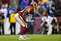 Landover, MD - December 9, 2018: Washington Redskins running back Adrian Peterson (26) during game between the New York Giants and Washington Redskins at FedEx Field in Landover, MD. The Giants defeated the Redskins 40-16 dropping the Redskins to 6-7 on the season. (Photo by Phillip Peters/Media Images International)
