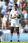 30 August 2013: New Mexico's Elba Holquin. The University of North Carolina Tar Heels hosted the University of New Mexico Lobos at Fetzer Field in Chapel Hill, NC in a 2013 NCAA Division I Women's Soccer match. UNC won the game 2-1.